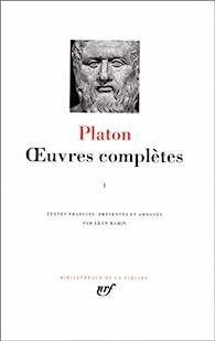 Oeuvres complètes - La Pléiade 01 par  Platon