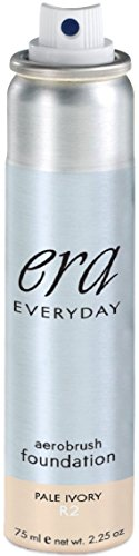 ERA Everyday Aerobrush Foundation Makeup, R2 Pale Ivory, 2.25 Ounce