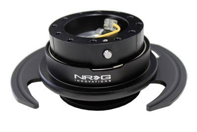 NRG SRK-650BK Gen 3.0 Steering Wheel Quick Release Kit - Black
