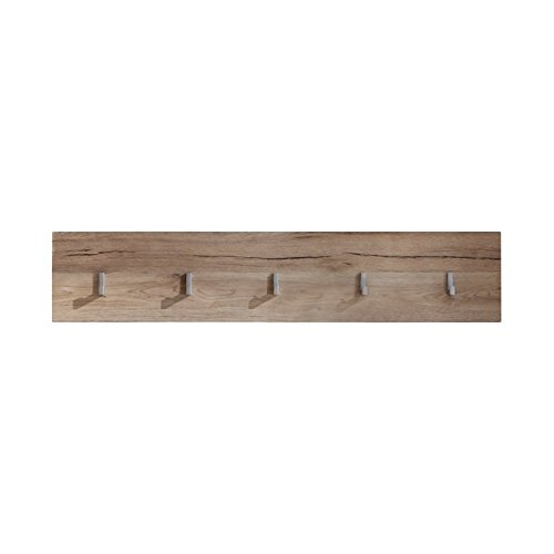 Furnline Malea Oak San Remo Hallway Wall Mounted Shelf, Brown 1324-471-90