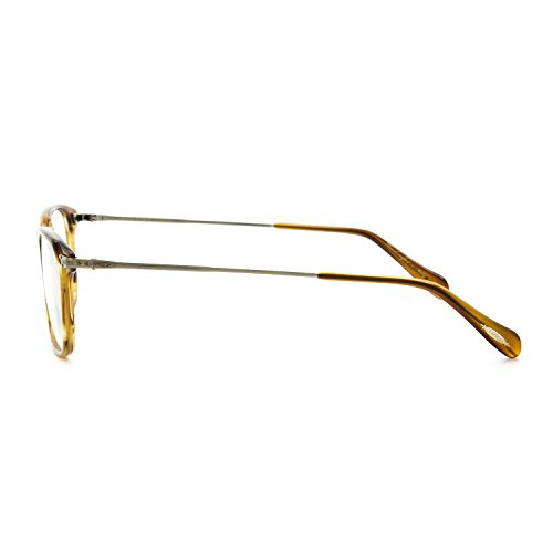 NEW Oliver Peoples Harwell Prescription Eyeglasses Frame Raintree Antique Gold