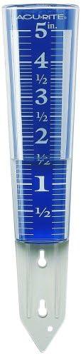 AcuRite 5-Inch Capacity Easy-Read Rain Gauge