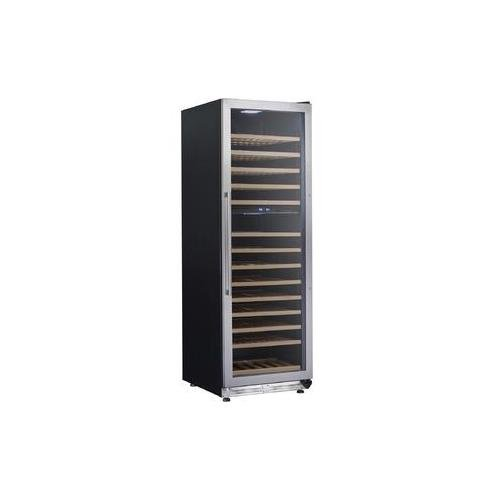 Avanti WCF154S3SD Stainless Steel Designer Series Dual Zone Wine Chiller, (Avanti Dual Zone Wine Cooler)