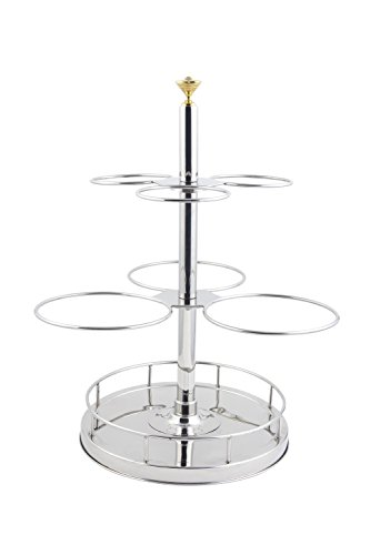 Bon Chef 61100 Stainless Steel Revolving Condiment Holder, 18'' Length x 18'' Width x 26-3/4'' Height by Bon Chef
