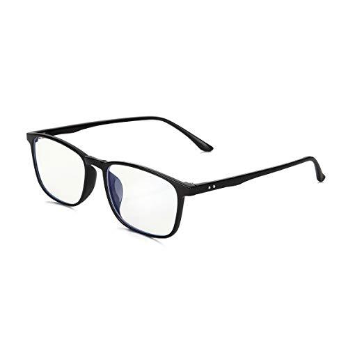 (Blue Light Blocking Glasses for Women Oiamik, Filter UV400 Glare Lightweight Frame Computer Reading Gaming Glasses Men for Anti Eyestrain (Unisex))
