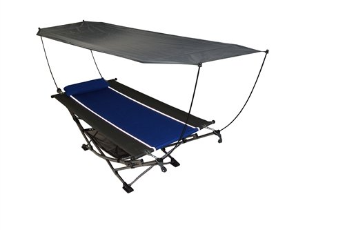 amazoncom large portable hammock with canopy garden outdoor - Large Canopy 2015