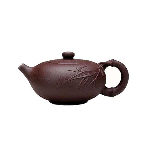 Ufingo-Chinese Yixing Handmade Zisha Purple Clay Teapots-Zhuhu-Zini-200cc