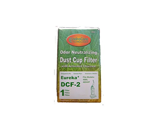 1 Eureka DCF2 61805-4 HEPA Filter Whirlwind Cyclonic Victory 4600 Upright ()
