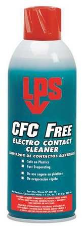 LPS 03116 Contact Cleaner,Aerosol Can,Size 11 oz.