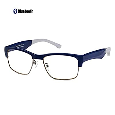 Aceyyk Smart Bluetooth Glasses, Anti Blue Ray Smart Glasses and Hands-Free Calling Easy to Use with Mic Compatible with Most Smart Bluetooth Phones
