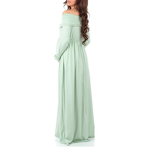 76ca34b7901 Women s Floral Over The Shoulder Ruched Maternity and Nursing Dress by Mother  Bee - Made in