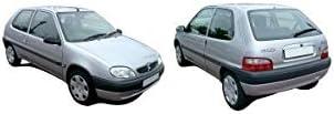 DM Autoteile Au/ßenspiegel rechts komplett konvex teilgrundiert mechanisch passt f/ür Saxo 99-04