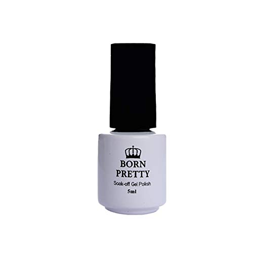 Aland 5ml Opal Jelly Gel White Soak Off Nail Art UV Gel Polish Pro Manicure Art Tool Protein Color Nail Polish Latex White Nail Polish Glue Lasting phototherapy Protein ()