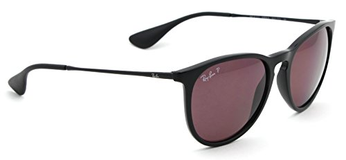 Ray-Ban RB4171 601/5Q Erica Sunglasses Black Frame / Polarized Purple Lens