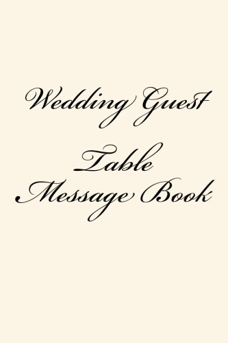 Wedding Guest Table Message - Maisy Table