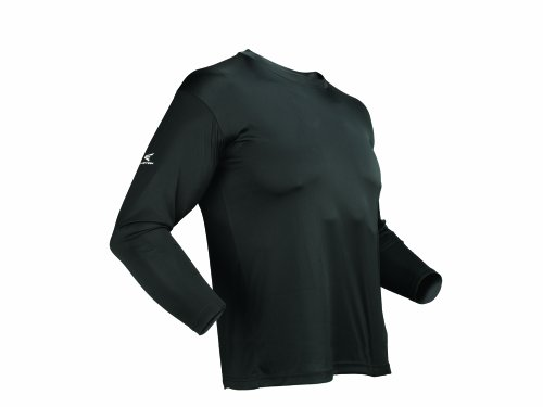 Easton Men's Spirit Long Sleeve Jersey, Black, Medium