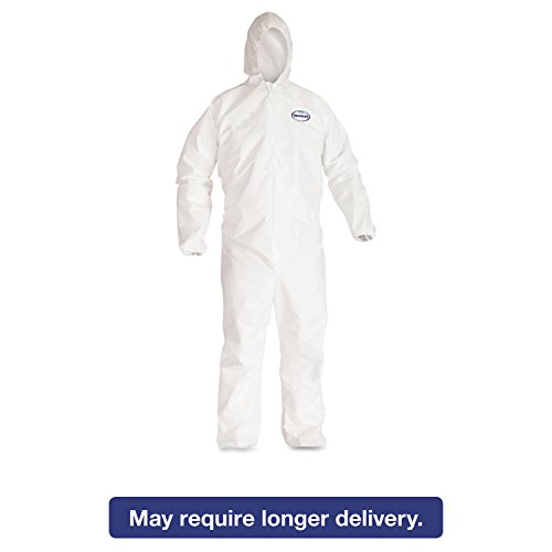 Disposable Clothing - 2XL KleenGuard A40 Liquid and Particle Protection Coveralls - (25/Case) - R3-44325 by Kimberly-Clark