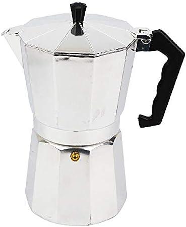 Cafetera Espresso Cafetera Ollas 9 Tazas de Aluminio Moka Pot Cafetera Moka Espresso Taza: Amazon.es: Hogar