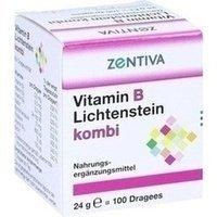 Vitamin B Lichtenstein Kombi Dragees 100 stk