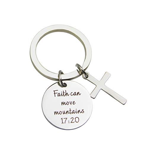 (Yilian Faith can Move Mountains、 十字架、Faith Bracelet (Keychain))