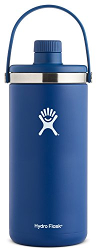 Hydro Flask 128 oz 1 gal Double Wall Vacuum Insulated Stainless Steel Leak Proof Oasis Water Cooler / Thermos / Jug, Cobalt by Hydro Flask