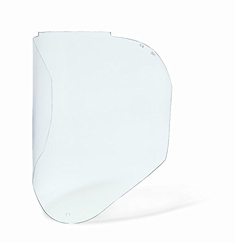 Uvex S8550 Clear Uncoated Replacement Visor, Polycarbonate (Visor Bionic Shield)