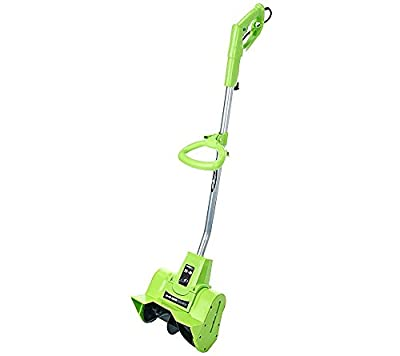 "EarthWise Snow Thrower Snow Shovel 9 AMP Corded Electric 10"" - Assorted Colors"