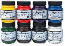 Jacquard Textile 8 Color Primary ()