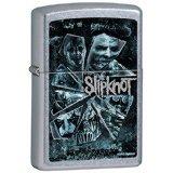 Zippo Slipknot Shattered Glass Pocket Lighter, Street Chrome