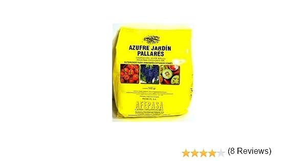 Azufre en polvo para huerta y jardinería. 500 gr: Amazon.es ...