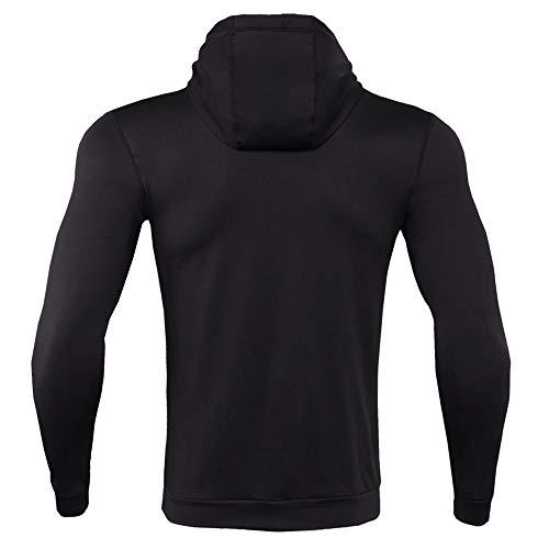 De Manches Sweat Hoodies Noir Fitness À Blouse Bodybuilding Les shirts Longues Magiyard Tops Hommes Skin afwqxgEZp