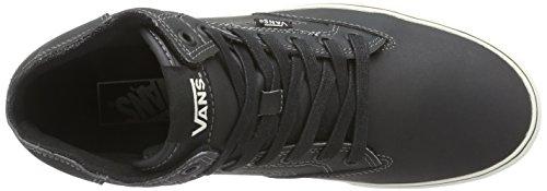 VansM WINSTON HI LEATHER - Zapatillas de Deporte hombre negro - Noir ((leather) Black/a