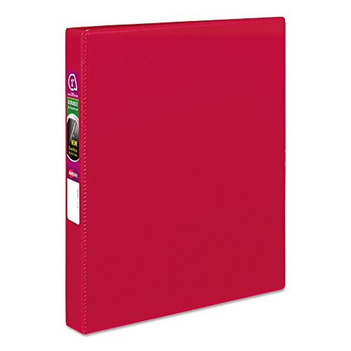 Avery 27201 Durable Binder with Slant Rings, 11 x 8 1/2, 1