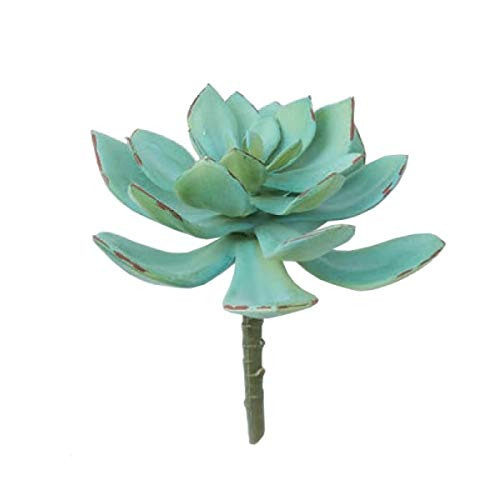 人工観葉植物 エケバリアピック15(24個セット) ba260 多肉植物 (代引き不可) インテリアグリーン 造花 SUCCULENT PICK B07T21VV9Y