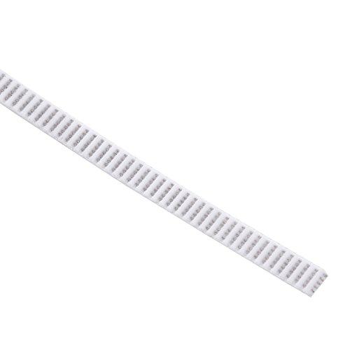 6mm timing belt 3d printer belt white gt2 open synchronous