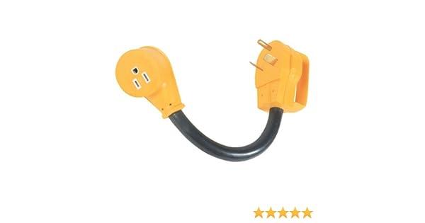 Amazon Com Camco Mfg Inc Rv Power Grip Dogbone Adapters With Handles Automotive