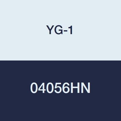 4 Flute Regular Length 25//64 TiN Finish YG-1 04056HN HSS End Mill 2-11//16 Length