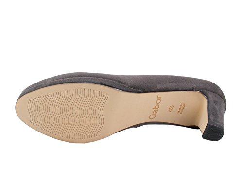 Gabor Women's Fashion Closed-Toe Pumps Grey (Dark-grey 49) WDg8DSzVw