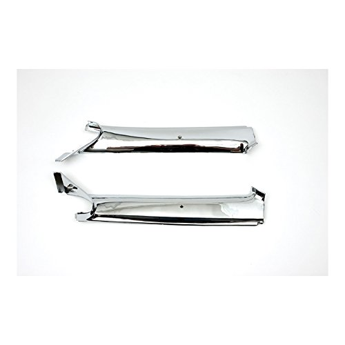 Eckler's Premier Quality Products 33-183168 Camaro Pillar Post Moldings, Inner, Chrome, Convertible,