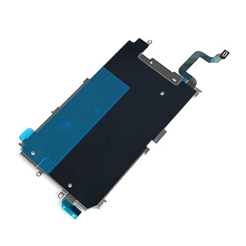 Screen Back Classic Metal Plate with Heat Shield / Home Button Flex Cable Preinstalled Replacment Part for Iphone 6 (4.7'')