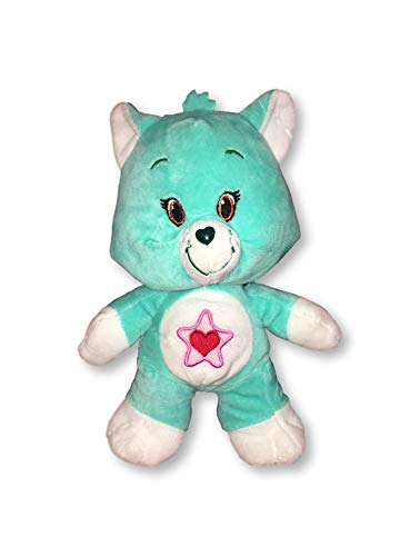 """Care Bears Plush Cousins 9"""" Stuffed Dolls - Embroidered Eyes Button Nose (Proud Heart Cat) from Care Bears"""