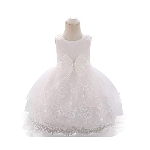 CAIYCAI 2019 Cute New Lace Baby Girl Dress 9M-24M 1 Years Baby Girls Birthday Dresses Party Princess Dress, 18M