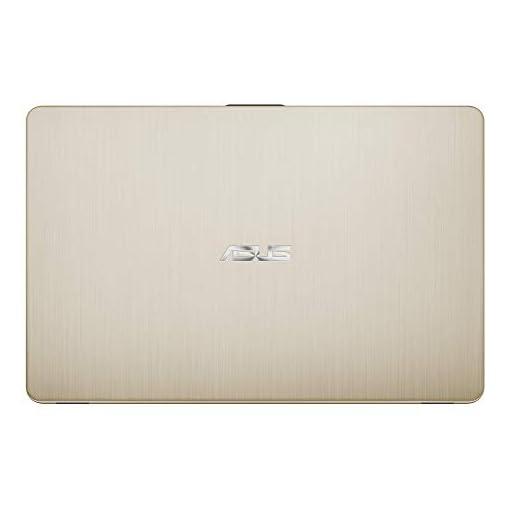 "ASUS VivoBook 15 R505ZA-BR675 - Portátil de 15.6"" HD (AMD Ryzen 5 2500U, 8GB RAM, 256GB SSD, AMD Radeon Vega 8, sin sistema operativo) Metal Oro - Teclado QWERTY Español 5"