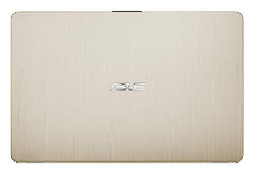 "ASUS VivoBook 15 R505ZA-BR675 - Portátil de 15.6"" HD (AMD Ryzen 5 2500U, 8 GB RAM, 256 GB SSD, AMD Radeon Vega 8, sin sistema operativo) Metal Oro - Teclado QWERTY Español 9"