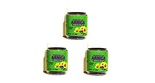 Arnica Ointment Black 2 oz. .... Pomada Arnica Salve Negra 3-PACK