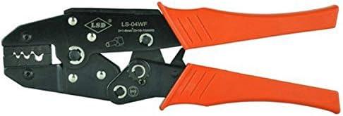 ケーブルカッター 1.0-6.0mm² ラチェット 圧着ペンチ 手動圧着工具 多機能ケーブル圧着 手動ケーブルカッター