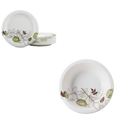 KITDXESX12PATHDXEUX9PATHPBBX - Value Kit - Dixie Pathways Mediumweight Paper Plates (DXEUX9PATHPBBX) and Dixie Pathways Heavyweight Paper Bowls (DXESX12PATH) by Dixie