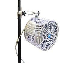 Schaefer VK12TF-SPM-W 12'' Versa-Kool Air Circulation Tent Fan {Standard Pole Mount}