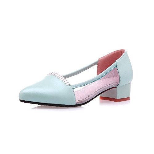 Generic - Sandalias de vestir para mujer Azul