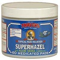 Thayers Superhazel Medicated Pads, with Aloe Vera Formula, 6
